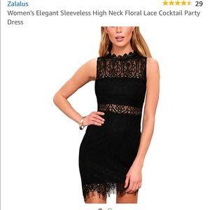 0ccff2087 Zalalus Women's Sleeveless Cocktail Dress